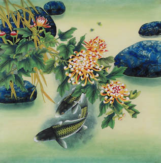 Zhao Wei Lin Chinese Painting 2615002