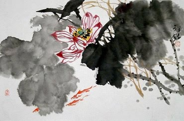 Mao Zu Ming Chinese Painting 2321001