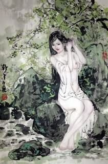 Nude painting chinese art valuable information