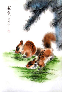 Chinese Other Animals Painting,30cm x 40cm,4336026-x