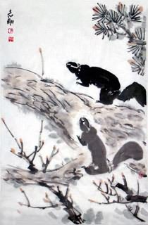 Chinese Other Animals Painting,69cm x 46cm,4360008-x
