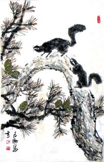 Chinese Other Animals Painting,69cm x 46cm,4360009-x