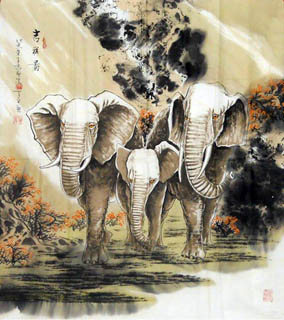Chinese Other Animals Painting,66cm x 66cm,4443011-x