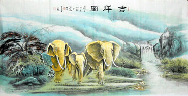 Chinese Other Animals Painting,66cm x 136cm,4443013-x