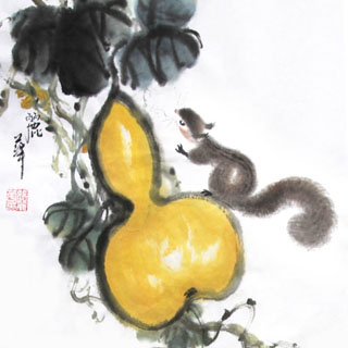 Chinese Other Animals Painting,34cm x 34cm,4485011-x