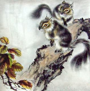 Chinese Other Animals Painting,66cm x 66cm,4510005-x