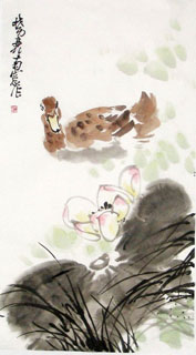 Chinese Other Animals Painting,55cm x 100cm,4517001-x