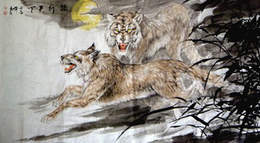 Chinese Other Animals Painting,97cm x 180cm,4695046-x