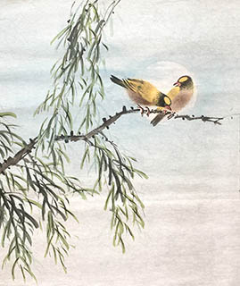 Chinese Other Birds Painting,40cm x 50cm,2011054-x