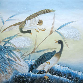 Chinese Other Birds Painting,66cm x 66cm,2011056-x