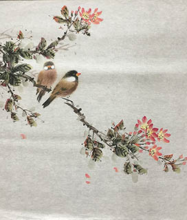Chinese Other Birds Painting,40cm x 50cm,2011058-x