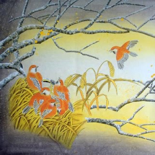 Chinese Other Birds Painting,50cm x 50cm,2319036-x