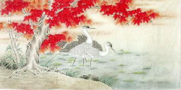 Chinese Other Birds Painting,66cm x 136cm,2324030-x