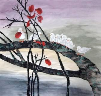 Chinese Other Birds Painting,66cm x 66cm,2336120-x