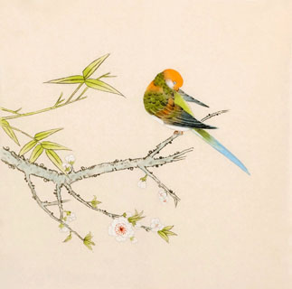 Chinese Other Birds Painting,33cm x 33cm,2340082-x