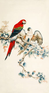 Chinese Other Birds Painting,92cm x 174cm,2340084-x