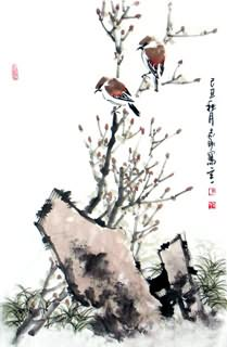 Chinese Other Birds Painting,69cm x 46cm,2360082-x