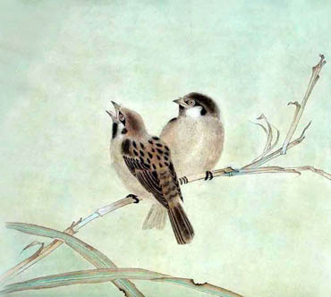 Chinese Other Birds Painting,33cm x 33cm,2389031-x