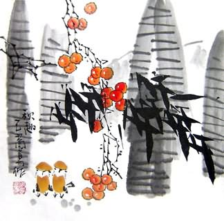 Chinese Other Birds Painting,33cm x 33cm,2396023-x