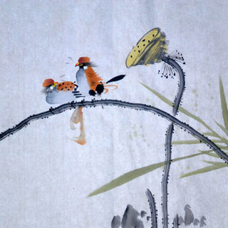 Chinese Other Birds Painting,33cm x 33cm,2408015-x