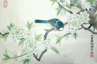 Chinese Other Birds Painting,45cm x 65cm,2409006-x