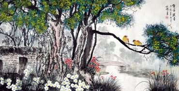 Chinese Other Birds Painting,66cm x 136cm,2423012-x