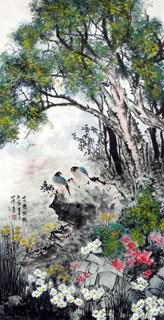 Chinese Other Birds Painting,66cm x 136cm,2423016-x