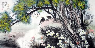 Chinese Other Birds Painting,66cm x 136cm,2423017-x