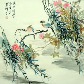 Chinese Other Birds Painting,69cm x 69cm,2423020-x