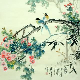 Chinese Other Birds Painting,69cm x 69cm,2423021-x
