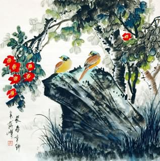 Chinese Other Birds Painting,69cm x 69cm,2423022-x
