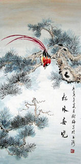Chinese Other Birds Painting,69cm x 138cm,2473015-x