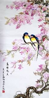 Chinese Other Birds Painting,69cm x 138cm,2473016-x