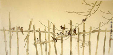 Chinese Other Birds Painting,66cm x 130cm,2553004-x