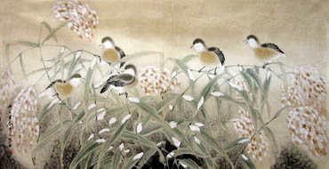 Chinese Other Birds Painting,66cm x 130cm,2601002-x