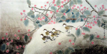 Chinese Other Birds Painting,66cm x 130cm,2601004-x