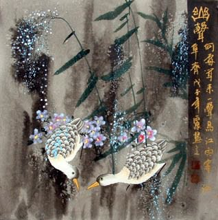 Chinese Other Birds Painting,50cm x 50cm,2604001-x