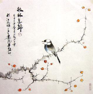 Chinese Other Birds Painting,50cm x 50cm,dyc21099026-x