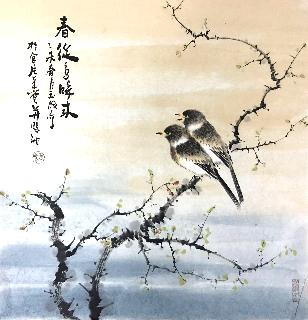 Chinese Other Birds Painting,50cm x 50cm,dyc21099027-x