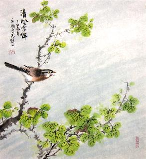 Chinese Other Birds Painting,50cm x 50cm,dyc21099030-x