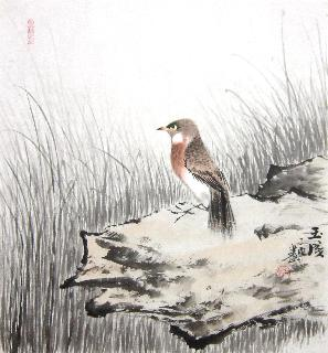 Chinese Other Birds Painting,50cm x 50cm,dyc21099032-x