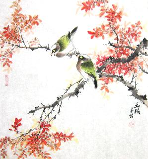 Chinese Other Birds Painting,50cm x 50cm,dyc21099033-x