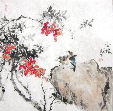 Chinese Other Birds Painting,66cm x 66cm,dyc21099034-x