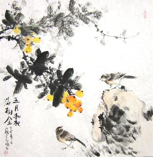Chinese Other Birds Painting,66cm x 66cm,dyc21099035-x