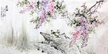Chinese Other Birds Painting,66cm x 136cm,dyc21099036-x