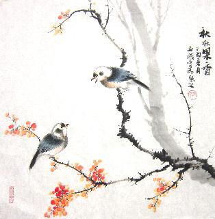 Chinese Other Birds Painting,50cm x 50cm,dyc21099038-x