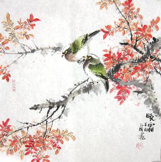 Chinese Other Birds Painting,50cm x 50cm,dyc21099040-x