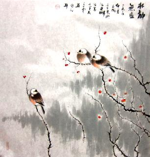 Chinese Other Birds Painting,66cm x 66cm,dyc21099042-x