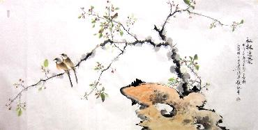 Chinese Other Birds Painting,66cm x 136cm,dyc21099043-x