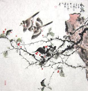 Chinese Other Birds Painting,66cm x 66cm,dyc21099044-x